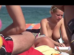 Beach, Big Tits, Monica fucking on the bowling, Xhamster.com