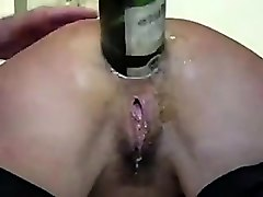 Amateur, Anal, Bottle, French anal amateur, Nuvid.com
