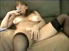Bus, Smoking, Stockings, Amateur milf stockings, Mylust.com