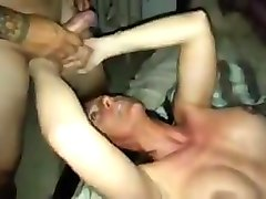 Wife, Huge cock rough first anal, Hclips.com