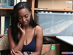 Ebony, Caught, Shy, Pissing girl caught and fucked hard, Gotporn.com