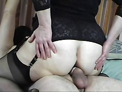 Aunt, Mother lets aunt fuck son, Xhamster.com