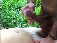 Couple, Outdoor, Groped outdoors, Xhamster.com