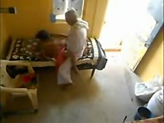 Indian, Caught, Hidden, Maid hidden camera, Hclips.com