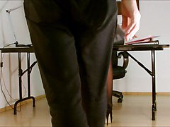 Panties, Pantyhose, Secretary, Business couple amp their horny secretary, Xhamster.com
