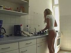 Kitchen, Brother fuck sister in kitchen, Xhamster.com