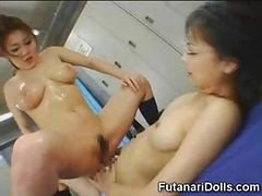 Asian, Futanari, Teen, Futanari mother daughter part 3 of 4, Drtuber.com
