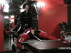 Bondage, Rubber, Doll, Rubber woman, Xhamster.com