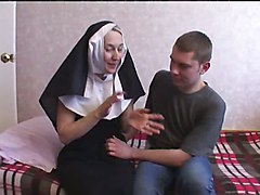 Nun, Nun and devil, Xhamster.com