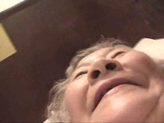 Asian, Granny, Japanese, Granny anal in a field, Xhamster.com