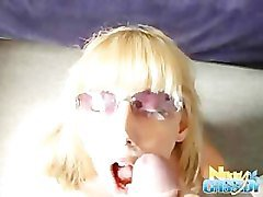 Blonde, Glasses, Ass, Techer milf with glasses with little boy, Pornhub.com