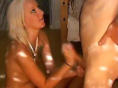 Blonde, Milk, Cock milking compilation, Xhamster.com