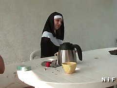 Anal, French, Nun, Groping in cinema, Xhamster.com