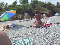 Couple, Beach, Russian, Couple russian, Xhamster.com