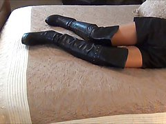 Boots, Slave, French boots, Xhamster.com