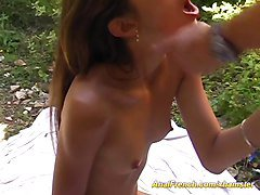 Anal, French, Teen, Pee outdoor, Xhamster.com