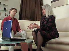 Mature woman and teen boy, Xhamster.com
