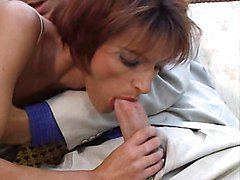 Vintage student girl takes two cocks, Xhamster.com