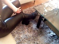 Boots, Leather, Heels, Xhamster.com