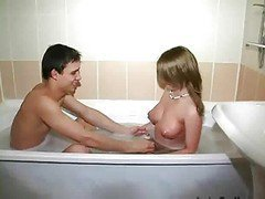 Bath, Bathroom, Teen, Bath seduction, Xhamster.com