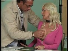 Bus, Office, German, Amazing nurse gets fucked in office, Xhamster.com