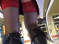 Boots, Black, Upskirt, Boot sisters do baltimore, Xhamster.com