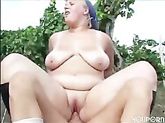 Chubby, Farm, Bigtits at farm, Pornhub.com