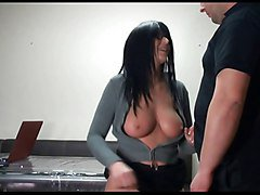 Bus, Office, Secretary, German secretary used and abused by her boss, Xhamster.com