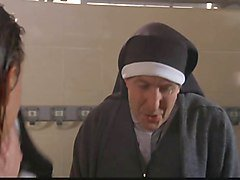 Nun, Shower, Old nun, Xhamster.com