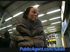 Public, Beautiful girl gets fucked, Tube8.com