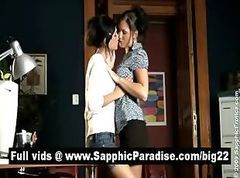 Office, Lesbian, Kissing, Kissing college rubbing, Drtuber.com