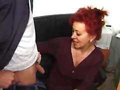 Office, Son fucking mom in front of family, Xhamster.com