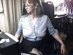 Granny, Glasses, Ass, Teen with glasses, Xhamster.com