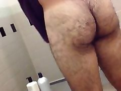 Spy, Shower, Gym, Girl gets fucked with gym tights on, Pornhub.com