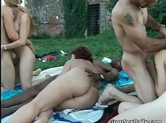 Group, Outdoor, Outdoors compilation, Gotporn.com