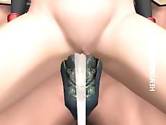 3D, Anime, Slave, Animated slave tucked by monsters uncensored, Pornhub.com
