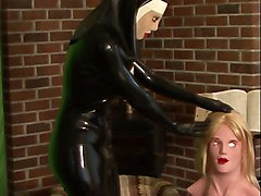 Rubber, Nun, Mask, Nun masurbating, Xhamster.com