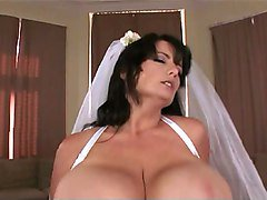 Bride, Big Tits, Bride cheating on wedding night, Xhamster.com