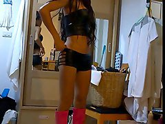 Boots, Ladyboy, Ladyboy mai in the shower, Xhamster.com