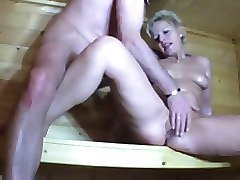Sauna, Little miss perfect cum, Xhamster.com