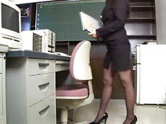 Asian, Office, Masturbating office, Xhamster.com