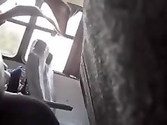 Bus, Caught, Caught wanking by couple and joins, Xhamster.com