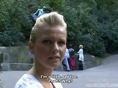 Czech, Outdoor, Blonde outdoor anal, Gotporn.com