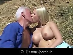 Bus, Blonde, Farm, Nuns have stallion fun on a farm, Pornhub.com