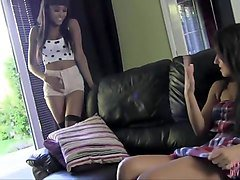 Ebony, Bus, Lesbian, Fat girls caught wanking in public toliets, Xhamster.com
