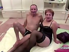 Casting, Grandpa, German, Machine orgasms, Pornhub.com