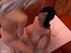 3D, Shemale, 3d side by side porno, Pornhub.com