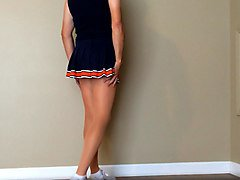 Cheerleader, Cheerleader in pantyhose, Xhamster.com