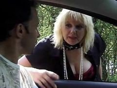 French, Outdoor, Mature, Lingerie outdoor dped, Xhamster.com