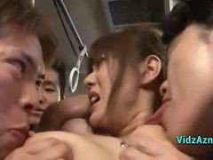 Asian, Bus, Nipples, Whore bus, Gotporn.com